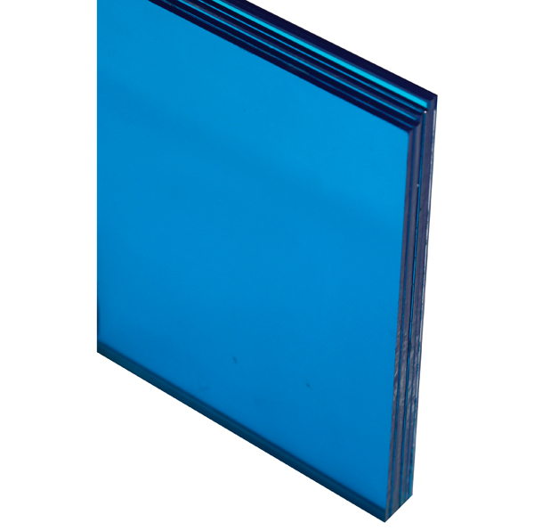 Verre Feuilleté Bleu 6 mm Image