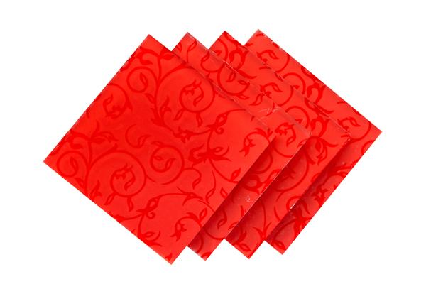 Verre Décoratif Rouge 5 mm Image