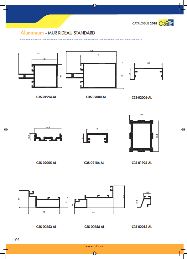Mur rideau standard page 1 Image