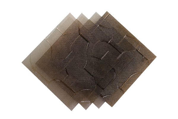 Verre imprimé Puzzle Bronze 3mm & 3.5mm Image